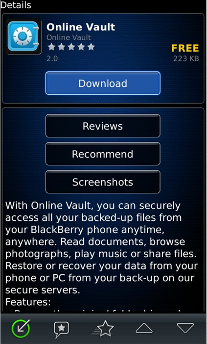 how to get blackberry id username and password